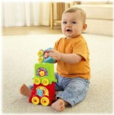 Buy Fisher-Price Stack & Roll Choo Choo from Amazon