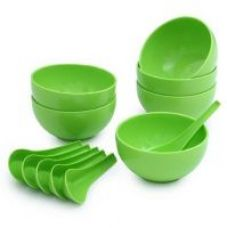 Get 68% off on Set Of 12 Pcs Soup Set (Microwave, Refrigerator  Dishwasher Safe)