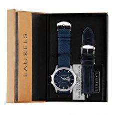Laurels Analogue Blue Dial Men'S Watch Lo-Inc-603 for Rs. 599