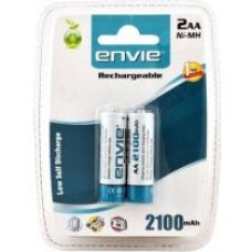 Buy Envie 2 x AA 2100mAh Ni-Mh Rechargeable Batteries from Amazon