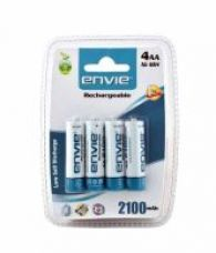Flat 29% off on Envie AA 2100 4PL Battery