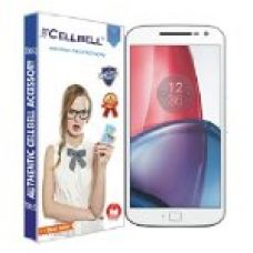 Cellbell Tempered Glass Screen Protector With Installation Kit For Moto G4 Plus for Rs. 299
