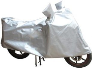 Buy Enew Two Wheeler Cover for Universal For Bike  (Silver) for Rs. 310