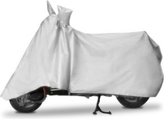 Get 60% off on Enew Two Wheeler Cover for Universal For Bike  (Silver)