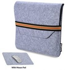 GIZGA 11.6 inch Protective Felt Laptop Sleeve (Light Grey) for Rs. 539