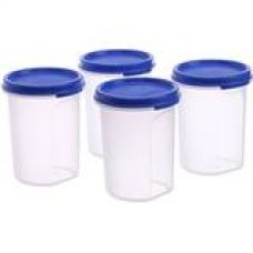 Tupperware MM Round Container Set, 440ml, Set of 4 for Rs. 559