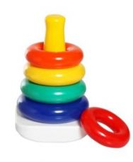 Fisher Price Rock A Stack - Multi Color