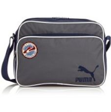 Buy Puma Polyester Dark Shadow Messenger Bag (7344501) from Amazon
