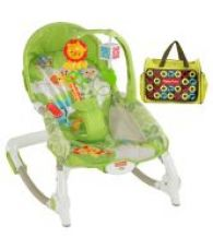 Buy Fisher Price Green Toddler Rocker With Diaper Bag from SnapDeal