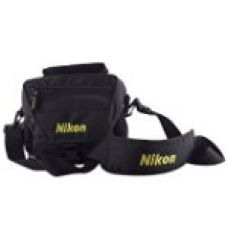 Buy Nikon Dslr Shoulder Camera Bag- Black from Amazon