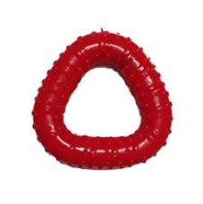 Super Dog Rubber Triangular Chew Toy for Rs. 199