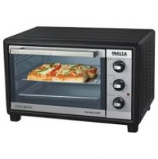 Buy Inalsa Kwik Bake 1500-Watt 24-Litre OTG with Motorized Rotisserie (Black) from Amazon