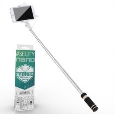 Buy Voltaa #SELFY Cable Selfie Stick  (Black) for Rs. 119