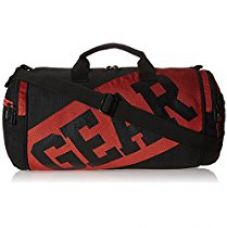 Gear 18 ltrs Black and Red Duffle Bag (DUFVRSITY0106) for Rs. 764