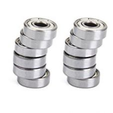 Buy Generic MagiDeal 608 Skate Ball Bearings for Skateboard Scooter Hockey 16PCS Silver from Amazon