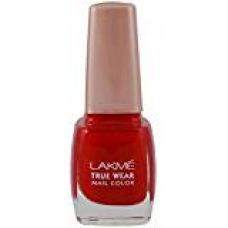 Lakme True Wear Nail Color, Reds & Maroons 404, 9 ml for Rs. 110