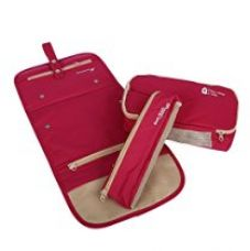 PackNBUY PINK Long Folding Hanging Cosmetic Makeup kit Travel Organizer for Rs. 899