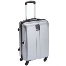 Safari Thorium Polycarbonate 77 cms Silver Hardsided Suitcase (Thorium-Stubble-Silver-77-4WH) for Rs. 4,109