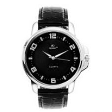 ADAMO Analogue Black Dial Men's Watch -AD63SL02 for Rs. 523