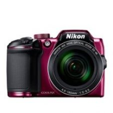 Buy Nikon Coolpix B500 16MP Point and Shoot Camera with 40xOptical Zoom (Purple) with HDMI cable + 16 GB SD card + Carry Case from Amazon