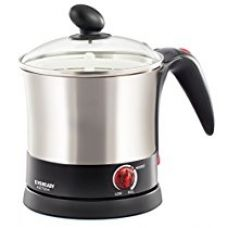 Buy Eveready 1 L 1200 Watt Multi-Function Kettle (KET504, Black) from Amazon