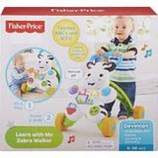 Buy Fisher Price Learn with Me Zebra Walker (Multicolor) from Amazon