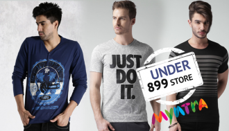great deals under Rs 899/- at myntra