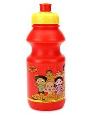 Chhota Bheem Sipper Water Bottle Red And Yellow - 400 for Rs. 85