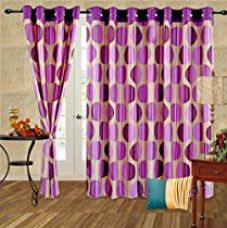 Buy Cortina Punto Window Curtain-45 Inch Width x 60 Inch Height (2pc) from Amazon