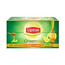 Lipton Honey Lemon Green Tea Bags, 25 Pieces for Rs. 126