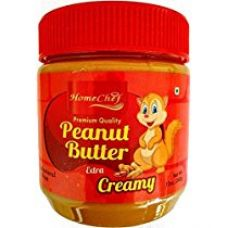 Buy Homechef Peanut Butter, Creamy, 340g from Amazon