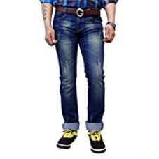 Buy SUPER-X Ripped Fit Men's Jeans from Amazon
