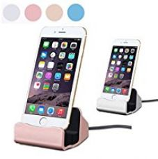 BlueInk iPhone Charger Docking Station Cradle Charging Sync Dock for Apple iPhone SE/5/5c/5s/6/6s/6 Plus/6s Plus/iPod Nano 7th Gen/iPod Touch 5th Gen for Rs. 799