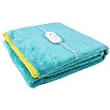 Buy Warmland Cozyland Polyester Single Electric Bed Warmer - Green from Amazon