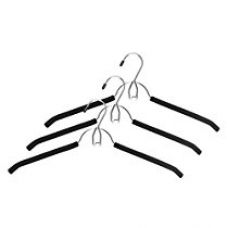 Buy Whitmor Steel Hanger with Belt Hook, Black from Amazon