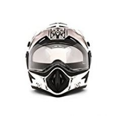 Buy Vega Off Road Ranger OR-D/V-RGR-WGL_M Full Face Graphic Helmet (White and Golden, M) from Amazon
