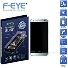 Buy F-EYE HTC One (M8) Mini Tempered Glass Screen Protector Guard (0.3mm) from Amazon