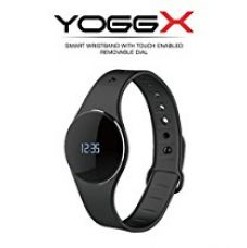 Buy Portronics POR-666 Yogg X - A Slim & Smart Fitness Tracker with Detachable & Touch Sensitive Screen from Amazon