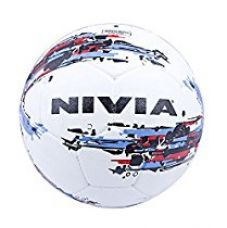 Nivia Storm Football, Size 5 (White) for Rs. 344