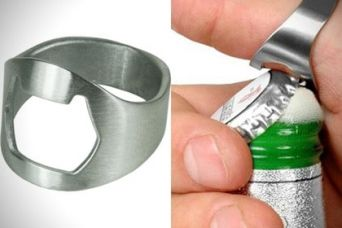 Buy Set of 2 Ring Bottle Opener from Hopscotch