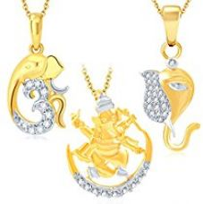 Buy Sukkhi Necklace for Women (Golden) (339CB900) from Amazon