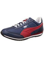 Buy Puma Men's Insignia Blue, High Risk Red and White Sneakers - 6 UK/India (39 EU) from Amazon