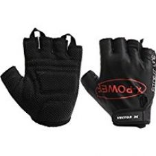 Vector X Vx 300 Gym Fitness Gloves, Small (Black) for Rs. 290