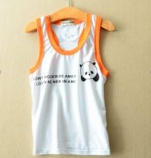Cool White Panda Vest for Rs. 204