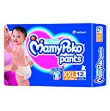 Mamy Poko Pant Style XXL Size Diapers (12 Count) for Rs. 242