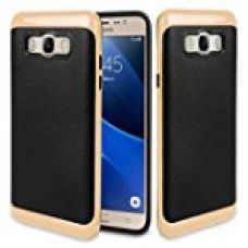 Buy Samsung ON8 - Samsung J7 (2016) Cover, REALIKE™ Premium {Imported} Shock Proof Case for Samsung J7 (J710-2016) Samsung ON 8 (VERGE SERIES- Gold) from Amazon