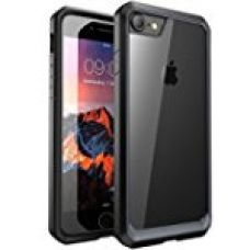 Buy iPhone 7 Cover, REALIKE™ {Imported} Premium Style Shockproof Back Case For iPhone 7 (Glacier Series - Black) from Amazon