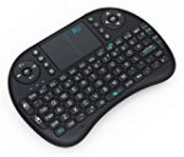 Buy Riiã'Â Mwk08 I8 Mini 2.4Ghz Wireless Touchpad Keyboard With Mouse For Pc/Pad/360Xbox/Ps3/Google Android Tv Box/Htpc/Iptv (2.4G Black) from Amazon
