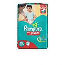 Buy Pampers Extra Large Size Diaper Pants (60 Count) from Amazon