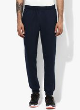 Buy Adidas Ess Navy Blue Training Track Pants from Jabong